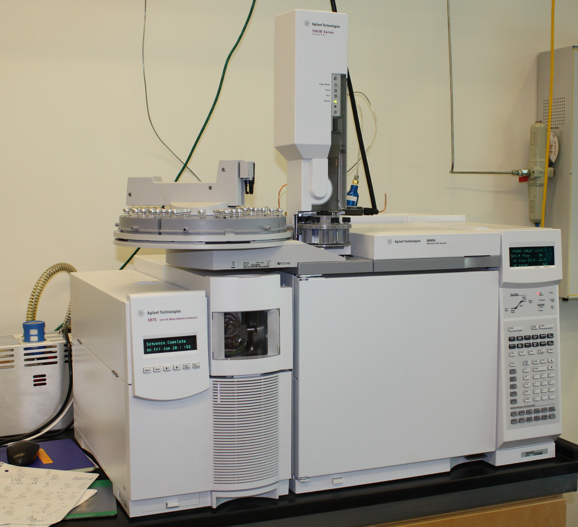 Agilent GC Single Quad